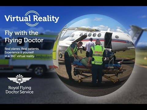 360 Fly with the Flying Doctor - Karen's Story