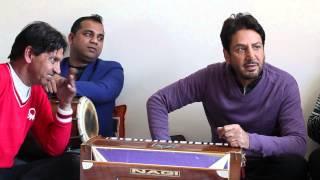 Kithe Tu Vi Kalla Sochi Ve | Behind The Scenes | Studio Session | Gurdas Maan