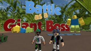 WE'RE BECOMING A GIANT MAN!!! / ROBLOX ENGLISH / PRACTICE GAME