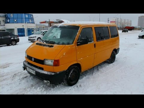 2000 Volkswagen Transporter (T4). Start Up, Engine, and In Depth Tour.