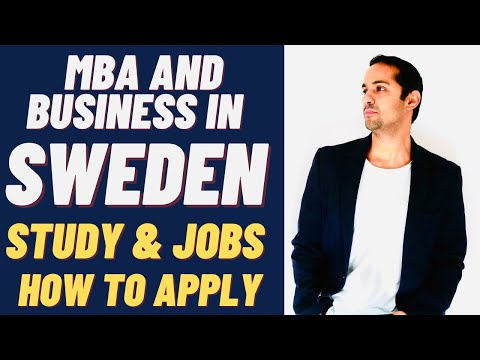 MBA Business  Jobs in Sweden and Economics MBA Business Studies In Sweden - By Tashify
