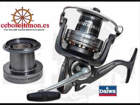 cebos el timon . es - Carretes Daiwa Surf-Casting - Spininng - Jigging from YouTube · Duration:  55 seconds