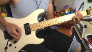 just like tiger woods guitar cover steel panther