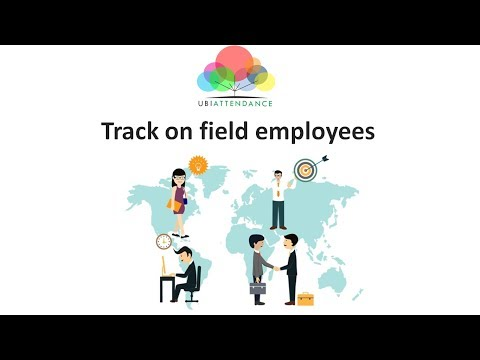 Attendance App for field employees | Track employee client visits | ubiAttendance