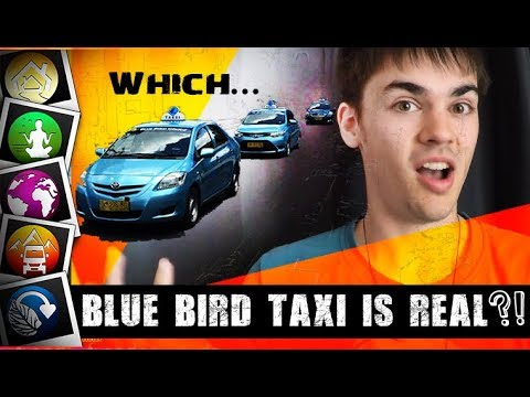 How can YOU Recognise the Real Blue Bird Taxis?  - Bali, Indonesia