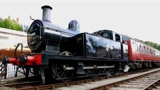 Ecclesbourne Valley Railway-Wirksworth-White Peak-England