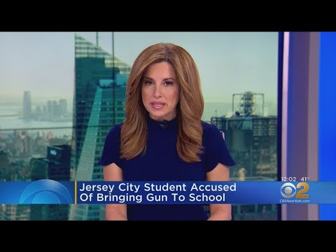 Jersey City Student Accused Of Bringing Gun To School