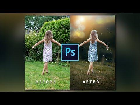 Photoshop cc Tutorial | How to Edit Outdoor Portrait | ( Blur & Color Background )