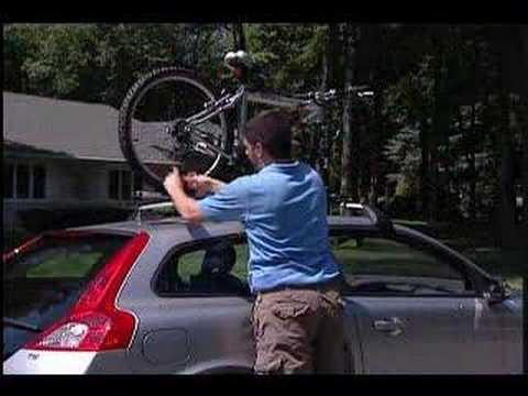 Volvo Fork Mounted Bike Rack