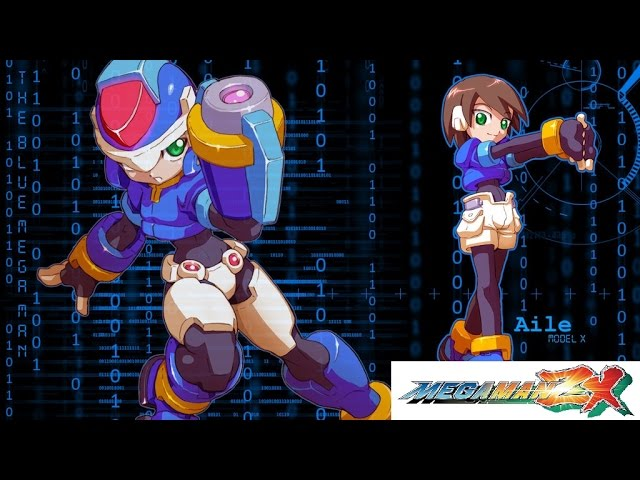 Mega Man ZX Final Stage + Final BOSS