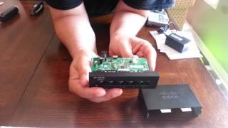 Cisco SF110D-05 Teardown - It's different!!!
