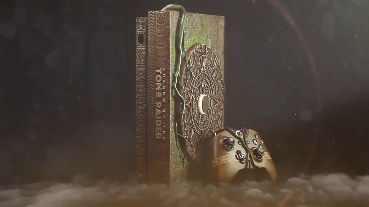 shadow of the tomb raider xbox one x special edition