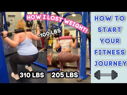 HOW TO START A WEIGHT LOSS JOURNEY & STICK WITH IT | HOW TO LOSE WEIGHT | HOW I LOST 100 POUNDS