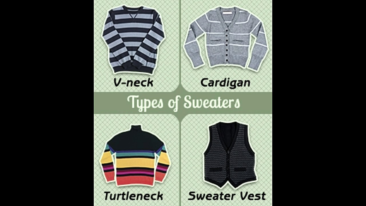 Understanding The Different Types Of Sweaters For Men And Women
