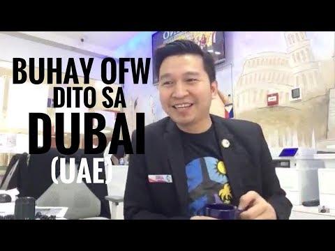 BUHAY OFW DITO SA DUBAI OR UAE (via FB Live!)