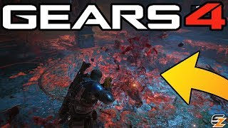 "Gears of War 4 Campaign Easter Egg – ""Raging Buccaneer Gnasher Weapon""! (Gears 4 Easter Eggs)"