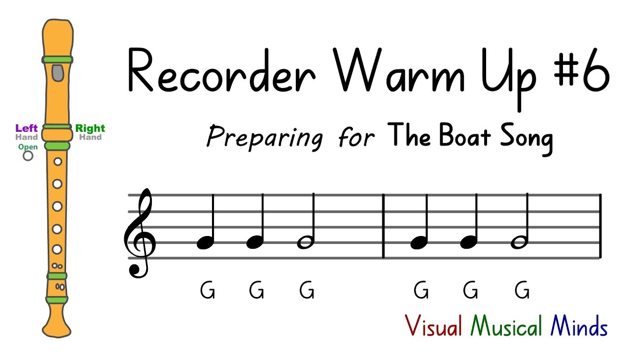 Recorder Warm-up #6: Preparing for