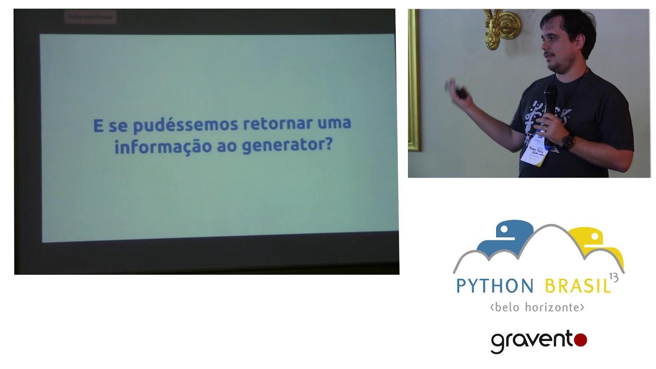 Image from Generators e Programação Assincrona com Python - Thomaz Reis