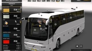 Euro Truck Simulator 2 RUNIRAN VOLVO B12B TX  1.22.x