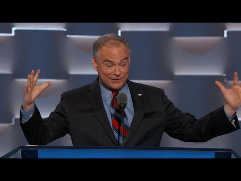 Tim Kaine FULL Speech at the Democratic National Convention