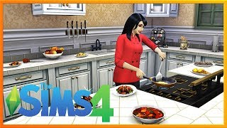 🍰 BAKING A BOYFRIEND / WEDDING.EXE CRASHED! 🍰 | Sims 4 | Cooking From Scratch Livestream