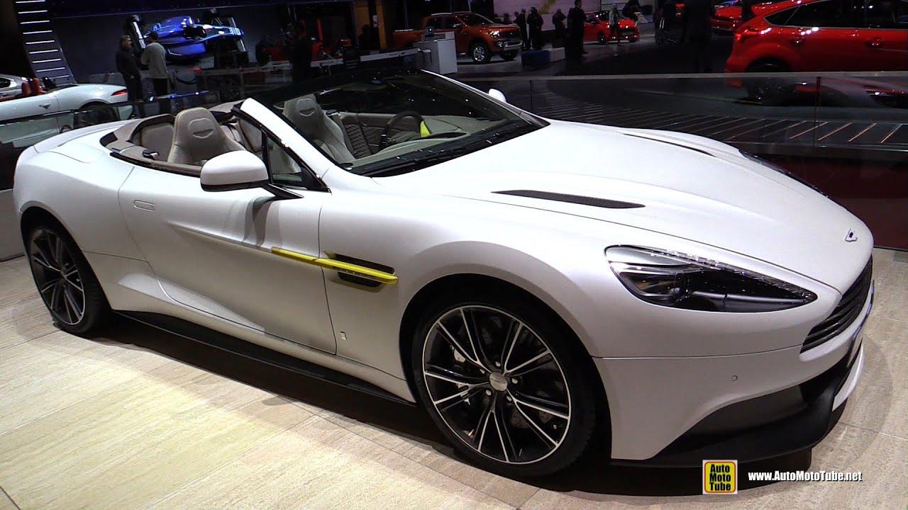 2015 aston martin vanquish q volante - exterior and interior