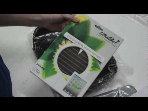 LilyPad iPad 2 Solar Charging HDMI USB Output Case Unboxing and Review