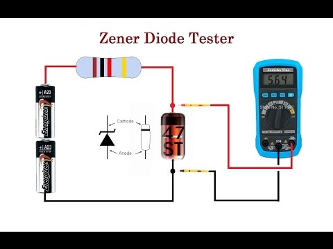 Zener Diode Tester. Cheap And Reliable. Up To 24V
