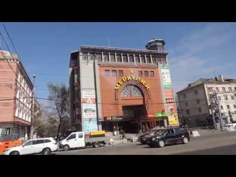 Калининград На автобусе от площади Победы до Автовокзала - 18 апреля 2018