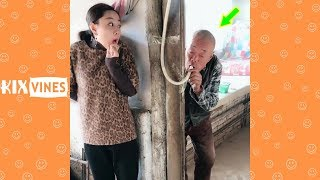 Funny videos 2019 ✦ Funny pranks try not to laugh challenge P63