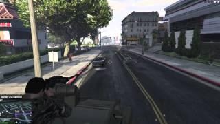 GTA5: .50 Cal Free Roam Mayhem