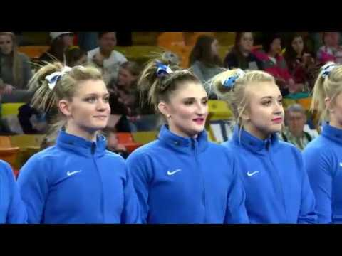 College Gymnastics - 2017-02-03 - Utah State vs BYU
