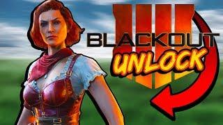 "(CHALLENGE REVEALED) HOW TO UNLOCK ""SCARLETT"" Blackout Character Quest UNLOCK BO4"