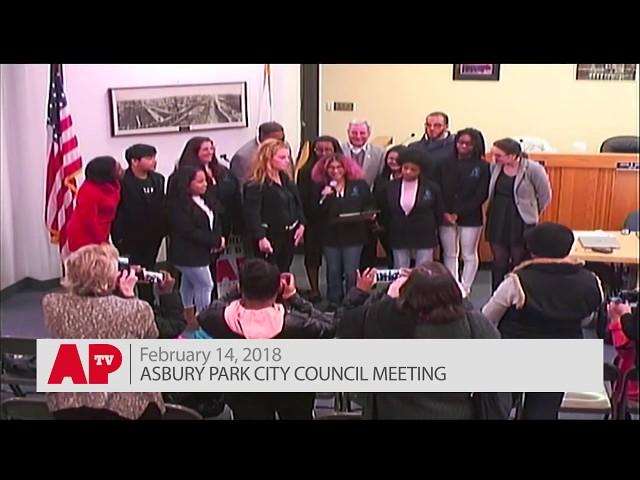 Asbury Park City Council Meeting - Feb. 14, 2018