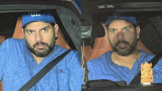 Yuvraj Singh Gives Angry Look To Media
