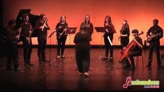 """Libertango"" A. Piazzolla  (arr. Fran Calvo) - Orquesta de flautas, guitarras y piano"