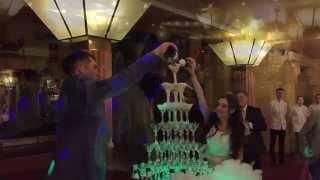 Артур Базинян - Волшебный Ведущий - Свадьба Евгения и Лауры 09.10.2015 - Ведущий на свадьбу СПб