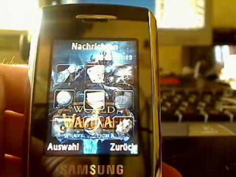 Samsung Sgh D900i World of Warcraft Wotlk Mod