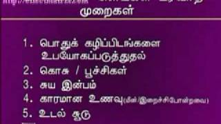 Sexually Transmitted Disease - Medical Symptoms - Tamil Video - Part 3