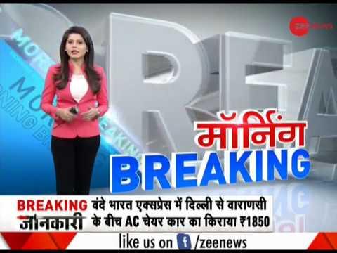 Morning Breaking: BJP workers urges Prakash Javadekar to cancel Asaduddin Owaisi's AMU visit.