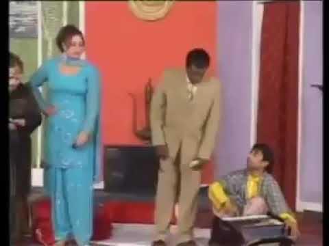 Kai wari mai khabar pari akhbara witch( stage drama clip )