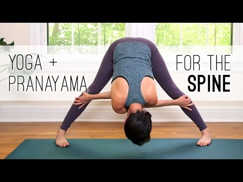 Yoga + Pranayama for the Spine – Yoga With Adriene