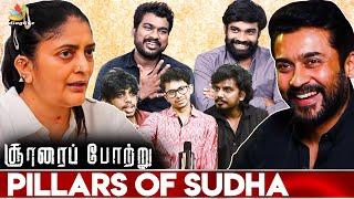 Maara is Male Version of Sudha kongara: Soorarai Pottru Assistant Directors Interview | Suriya