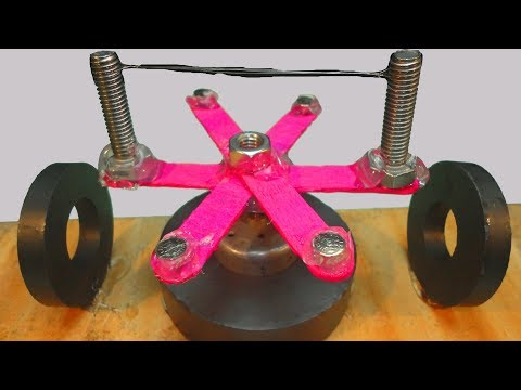 FREE ENERGY GENERATOR Homemade With Magnet Real Power || free energy generator
