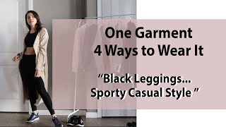 How to Wear Black Leggings & t…