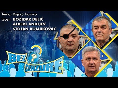 BEZ CENZURE: Vojska Kosova - Stojan Konjikovac, Albert Andijev i Božidar Delić