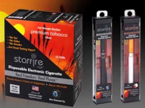 Starfirecigs Starter Kit Review Electronic Cigarette Cigalike
