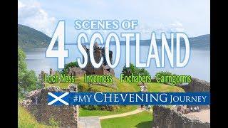 SCOTLAND: Loch Ness + Inverness + Fochabers + Cairngorms