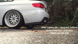 IG@jonnylin11 | BMW n54 e92 335i | VRSF Catless Downpipes | Vanguard V2 Catback Exhaust