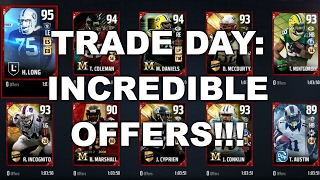TRADE DAY PART 2: INCREDIBLE OFFERS!! MUT 17